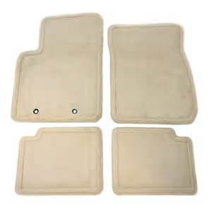 Cadillac Dts Floor Mats For Sale Genuine 2008 11 Cadillac Dts Light Linen 4 Pc Floormat