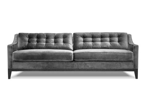 modern grey velvet sofa charlton fabric sofa iconix collection sofas home