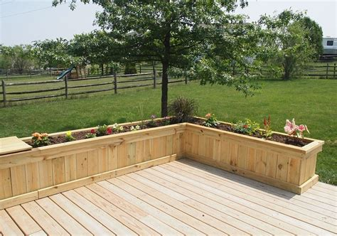 deck planter ideas newsonair org