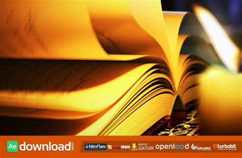 templates after effects gratis cs5 magic book 6961644 free after effects project videohive