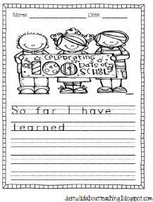 the 100 day prompt journal a writing prompt journal for self exploration and improvement books just about teaching 100th day writing packet and new