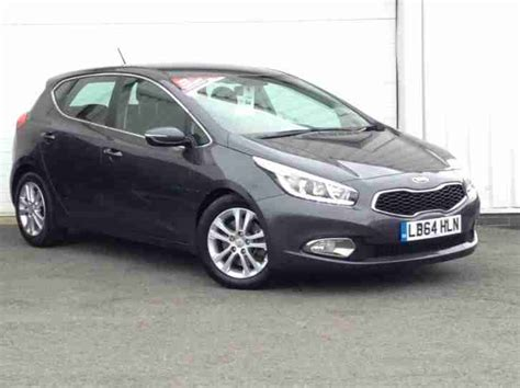 Kia Ceed Owners Manual Kia 2015 Cee D 1 6 Crdi 126bhp 2 Manual Hatchback Car For