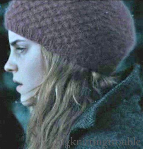 harry potter knit hat hermoine harry potter knit hat knit and crochet from