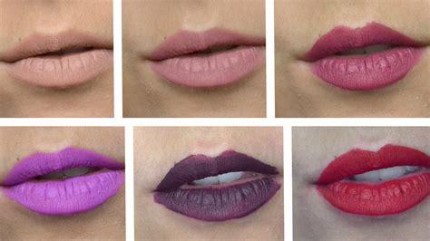 Lipstik Eternally stila quot eternally yours quot liquid lipstick swatches