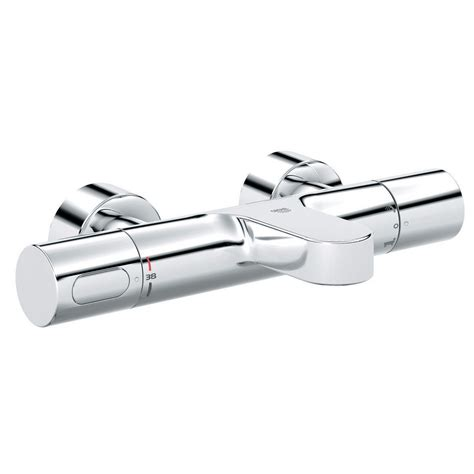 grohe bath shower mixer thermostatic grohe grohtherm 3000 cosmo thermostatic bath shower mixer