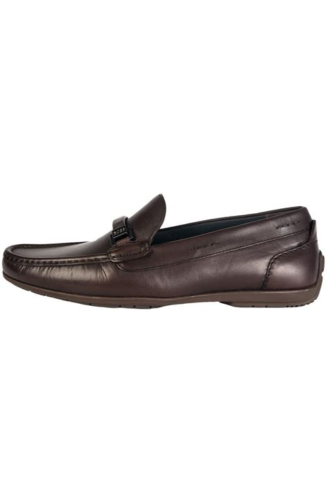 brown loafers with black hugo black leather loafers in black and brown flario