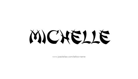 michelle tattoo designs name www pixshark images galleries