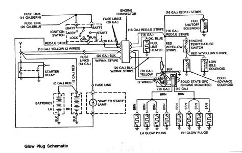 glow wiring diagram