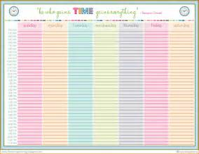 daily schedule template 6 family daily schedule template financial statement form