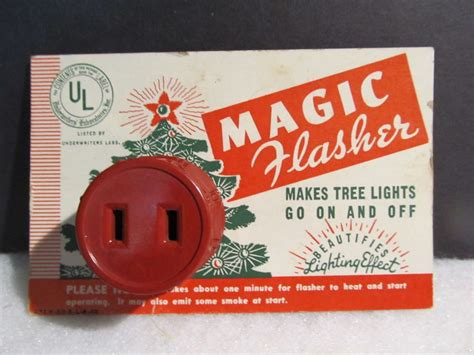 blinker for christmas lights vintage light blinker flasher universal lites on card japan vintage