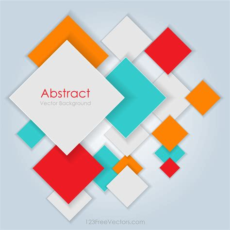 colorful square blank background image  vectors ui