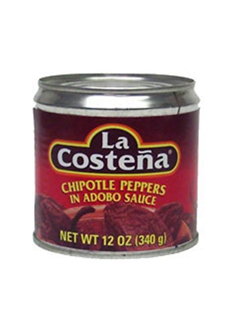 Definition Chipotle Chile by La Costena Chipotle Peppers In Adobo Sauce 12 Oz