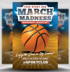march madness basketball madness flyer template madness and march
