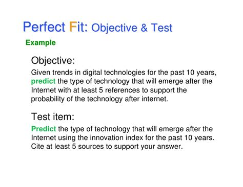 what to type in the objective section of a resume goals objectives and the fit
