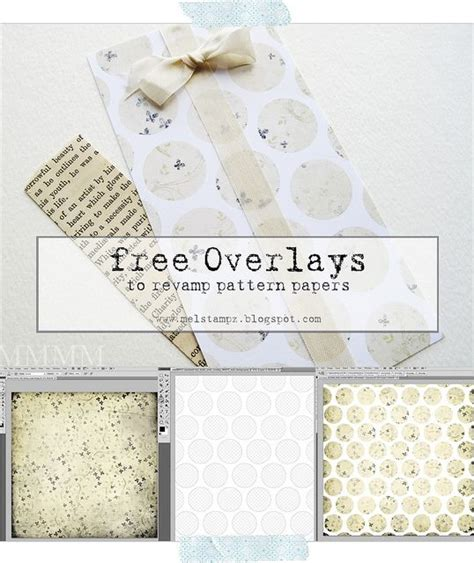 photoshop pattern overlay not working free circle overlays for reving quot old quot patterned papers