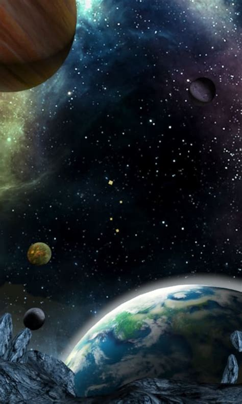 3d Live Wallpaper To by 3d Galaxy Live Wallpaper For Android