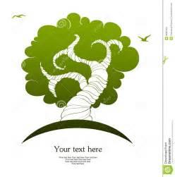 Stylized tree royalty free stock photos image 28087468