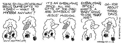 Luke 1 12 The Kingdom Has Come agnusday org the lectionary comic