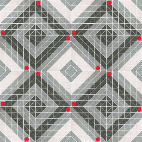 chino hill twist square  triangle geometric mosaic floor tiles ant tile triangle tiles