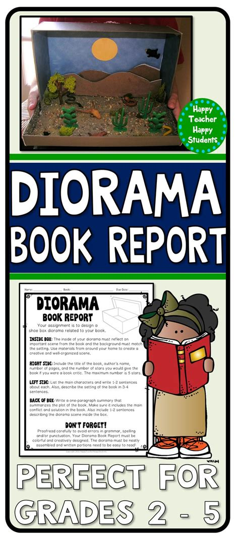 diorama book report 29 best shoebox house images on paper crafts