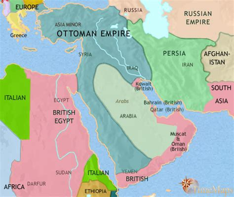 middle east map 1914 iraq then and now libertario