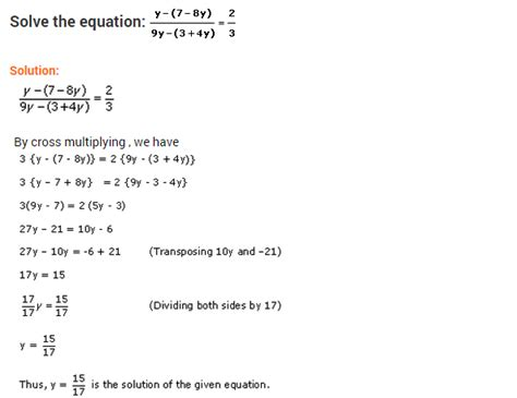 Course 3 Chapter 2 Equations In One Variable Worksheet Answers