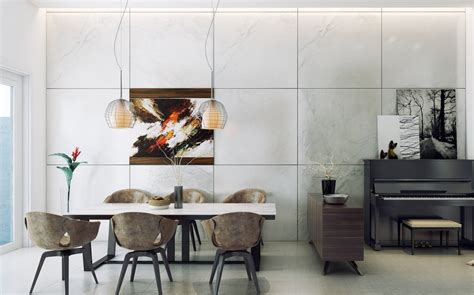 Contemporary Dining Room Looks 25 Sleek And Cool Contemporary Dining Tables