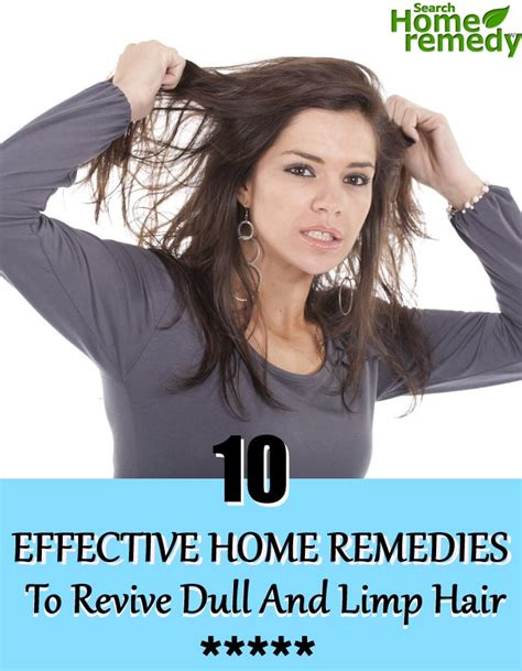 Remedy For Dull Limp Hair 10 effective home remedies to revive dull and limp hair