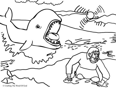 coloring page jonah jonah and the fish coloring and activity pages