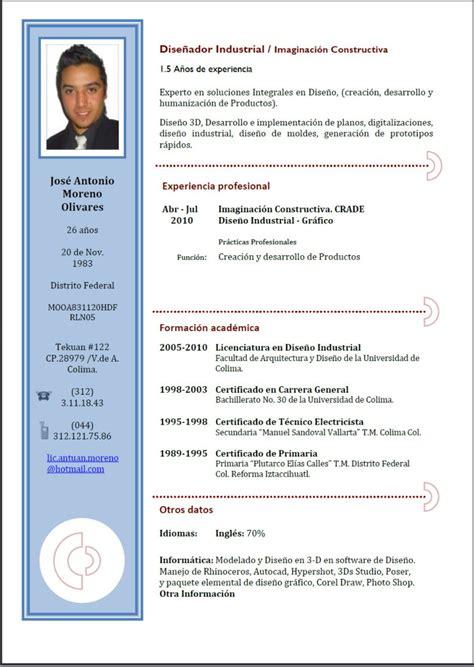 Plantillas De Curriculum Vitae Combinado Gratis plantillas curriculum vitae combinados curriculums vitae