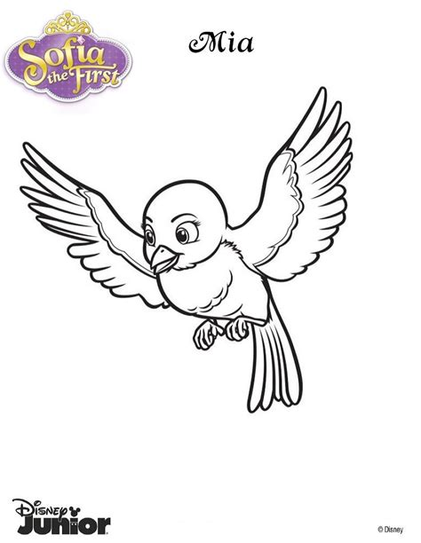 beautiful princess sofia coloring pages hellokids com mia the blue bird coloring pages hellokids com