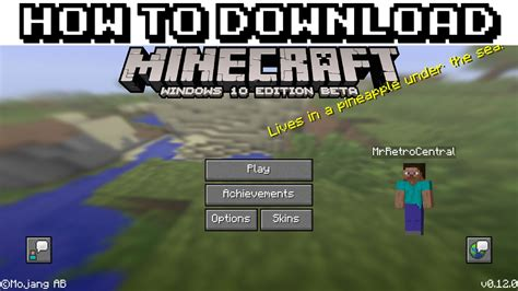 how to download minecraft for free on windows pc full how to download minecraft windows 10 edition beta for free
