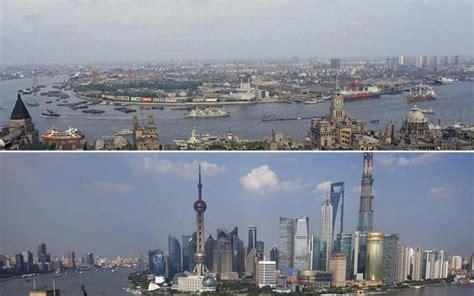 shanghai s 26 year mega city transformation captured