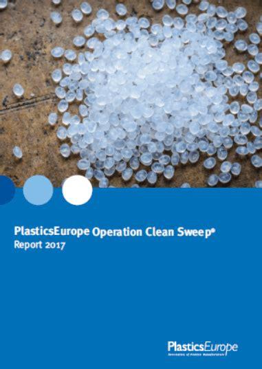 plasticseurope presents operation clean sweep report