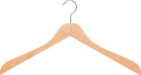 photo hanger shaped hangers beech wood weber coathangers