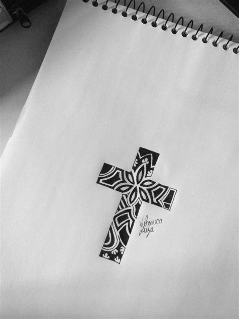 cute cross tattoos tumblr karibenha cross