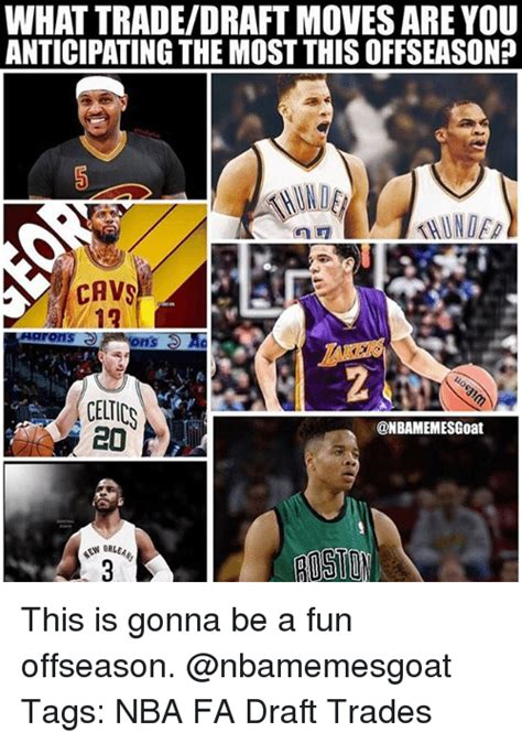 Nba Draft Memes - what tradedraft moves are you anticipating the most