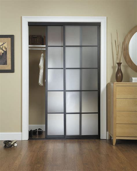 Installing Bypass Closet Doors Custom Closet Doors Installation Mirrored Bi Fold Bypass And Louvered These