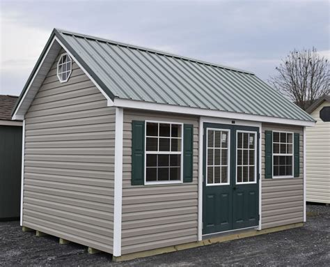 Vinyl Storage Sheds Pennsylvania Maryland And West Virginia Vinyl Doors For Barns