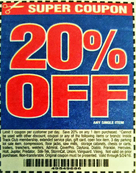 harbor freight coupons 20 off printable up to 70 off harbor freight tools coupon 2017 autos post