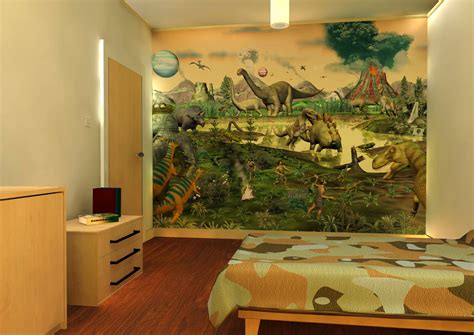 dinosaur wallpaper for bedroom dinosaur wallpaper for kids room wallpapersafari
