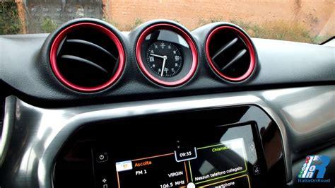 suzuki interni prova interni suzuki vitara test drive