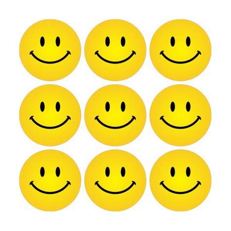 Sticker Smileys by Yellow Smiley Faces Stickers School Stickers