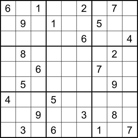 Printable Sudoku Medium Hard | pics for gt sudoku medium difficulty