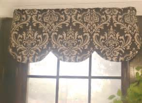 And Valance Brown And Beige Scallop Valance Ozborne By