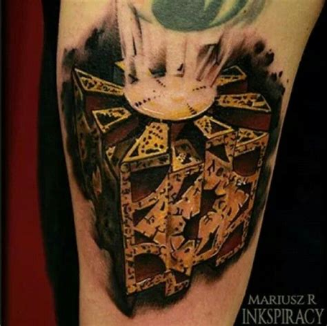 hellraiser tattoo hellraiser cube ideas cubes