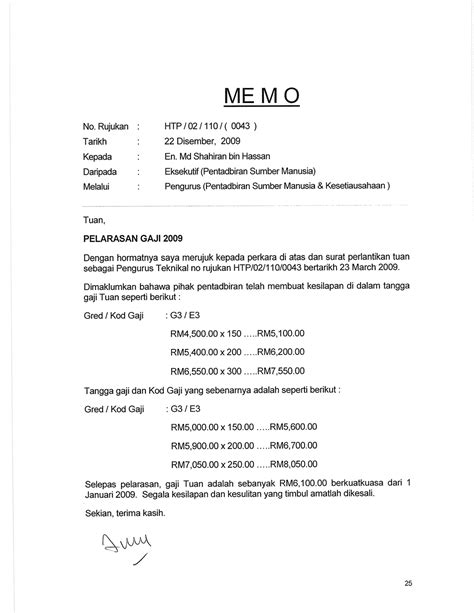 contoh surat rayuan penyelarasan gaji picture dahulu kini selamanya ops pemutihan di ktpc