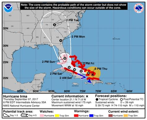 hurricane irma hit date hurricane irma a major category 4 bahamas local news