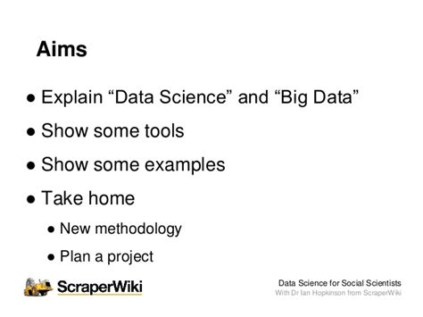 decoding the social world data science and the unintended consequences of communication information policy books data science for social scientists workshop