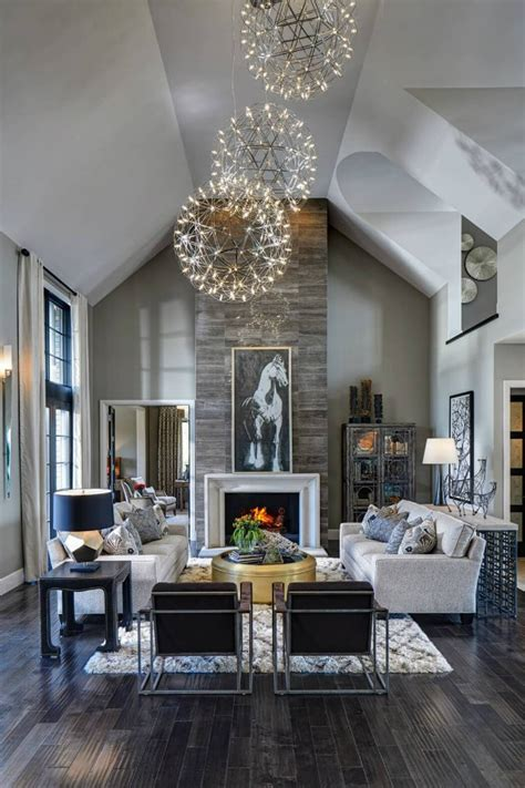 Living Room Chandelier Creative Contemporary Lighting Ideas For A Living Room